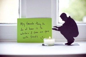 I want that candle holder!