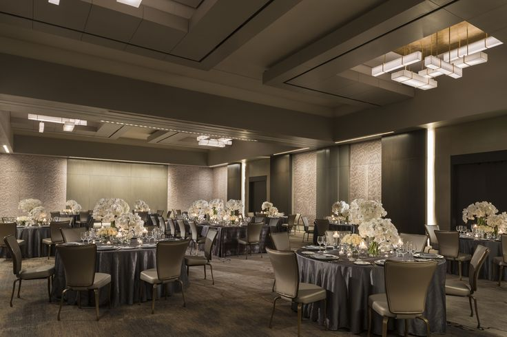 Newly enhanced Ballroom - Four Seasons Hotel Silicon Valley - Palo Alto Weddings