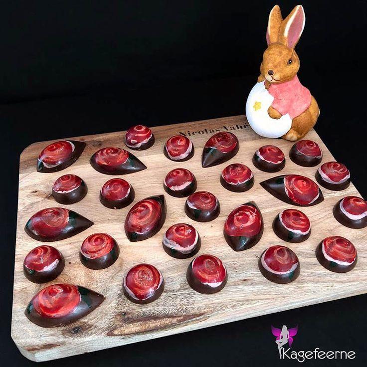 Fyldte chokolader til påskedagene 🌹🐣 Filled chocolate