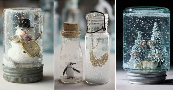 DIY: zelf super schattige snowglobes maken!
