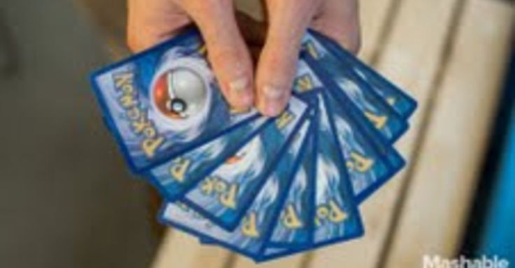 New ways to use those old Pokemon cards that are just sitting around.
