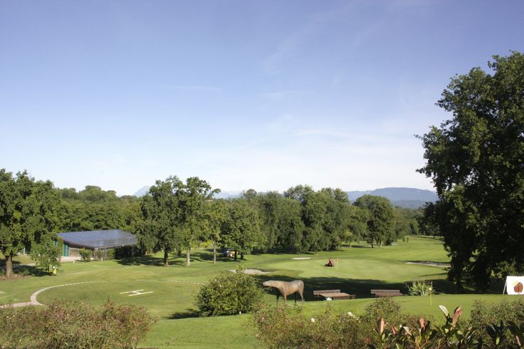 View from the clubhouse at Golf Club Udine, Fagagna - Italy