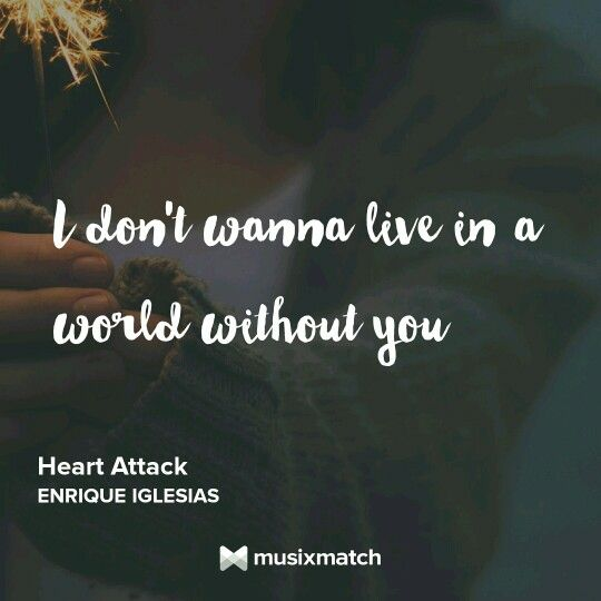 Nice lyric quote by enrique