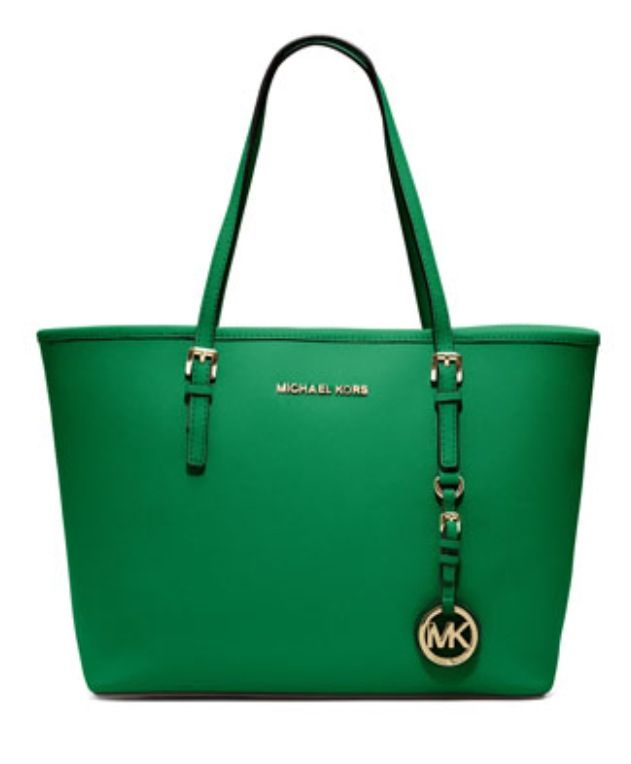 MICHAEL Michael Kors Jet Set Small Saffiano Travel Tote