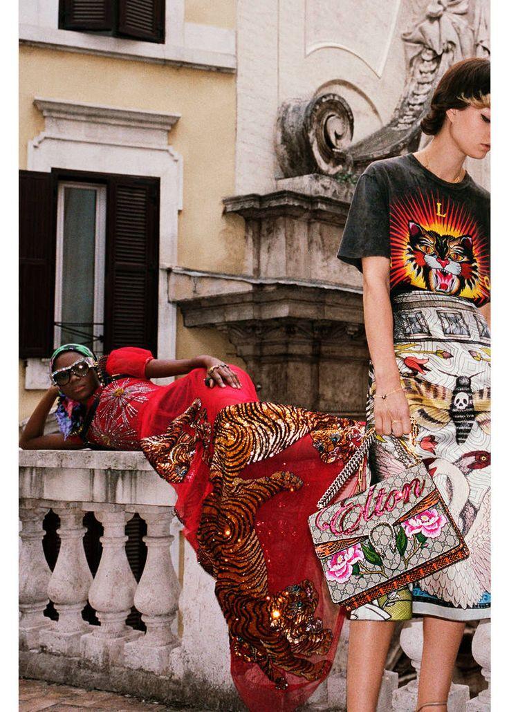 Shooting realizzato a Roma, città natale di Alessandro Michele, per la nuova campagna Gucci Primavera Estate 2017. https://www.gucci.com/it/it/st/stories/article/spring_summer_2017_advertising_campaign