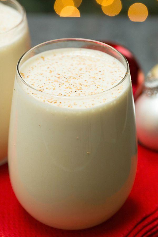 Old-Fashioned Eggnog #recipe on @Michelle Flynn (Brown Eyed Baker)   www.browneyedbaker.com