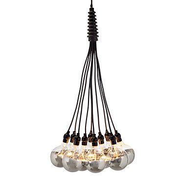 cluster light fixtures - restaurant lighting design