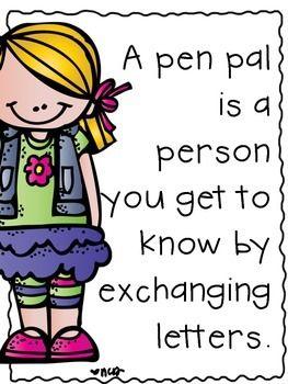 Pen Pal FREEBIE