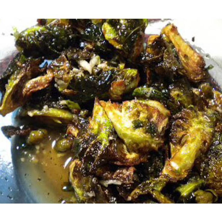 Fried Brussels Sprouts with Honey Sriracha Glaze – Marilyns Treats