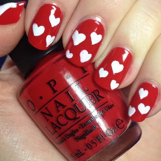 The Nail Trail: Valentine's Day Nail Art