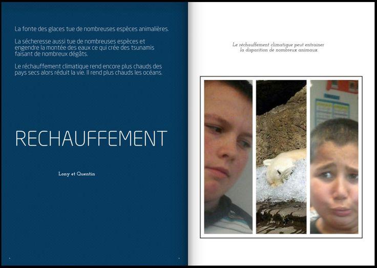Les primaires ont créé un magazine numérique sur le réchauffement climatique (Académie de Rennes). Retour d'expérience. #TICE #EcoleNumérique #COP21