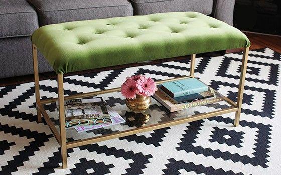 IKEA hack: maak zelf deze super elegante poefhttp://roomed.nl/zwevend-bureau-van-eric-degenhardt-voor-bower/
