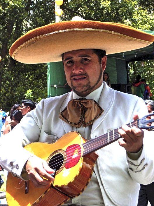 Mexican troubador