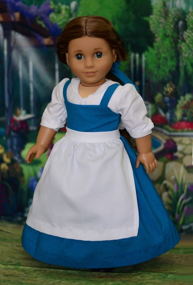 """""""Provincial Belle"""" Dress, Outfit, Clothes for 18"""" American Girl #LuminariaDesigns"""