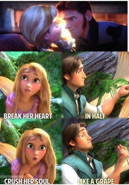 Consider, that Frozen and tangled combined opinion