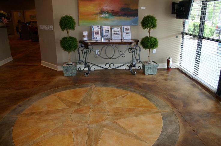 17 best images about concrete flooring on pinterest for Decorative concrete floors residential