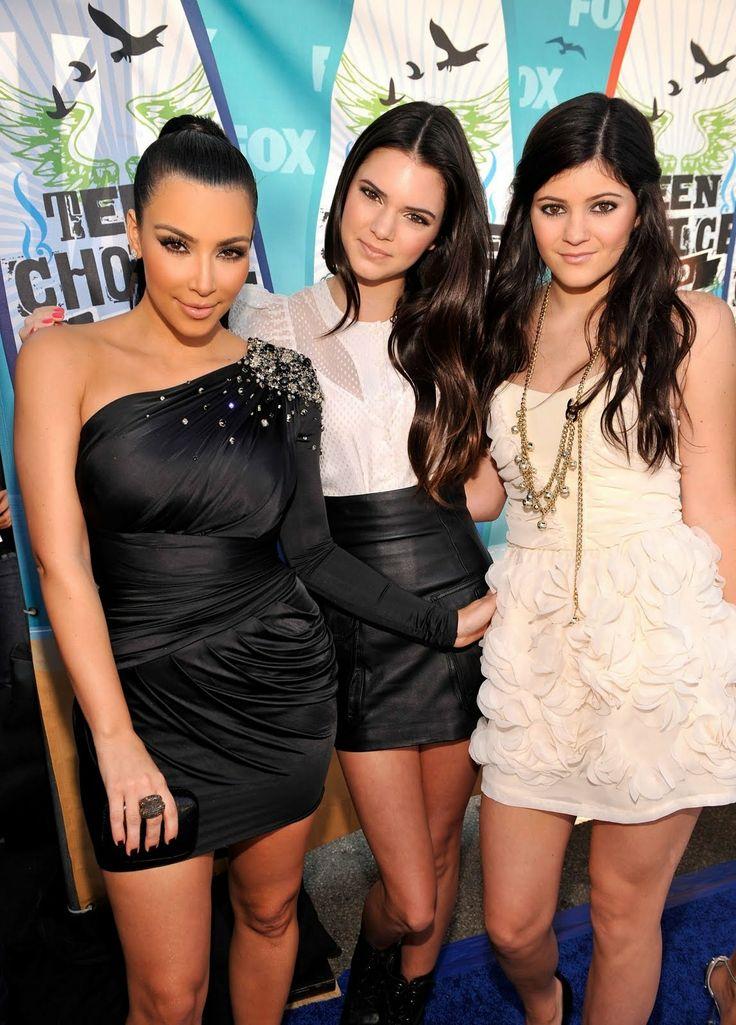 TeenCelebBuzz: Kendall & Kylie Jenner: 2010 Teen Choice Awards