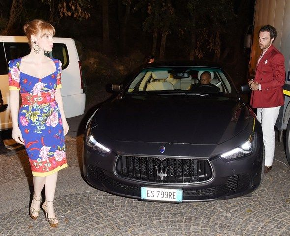 Actress Jessica Chastain attendes Day 1 of Maserati At Ischia Global Fest on July 12, 2014 in Ischia, Italy.