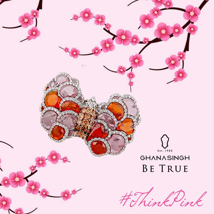 Be it jewellery or fashion, the world is a better place when designers #ThinkPink.