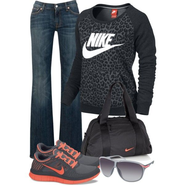Nike wear, created by c-michelle on Polyvore