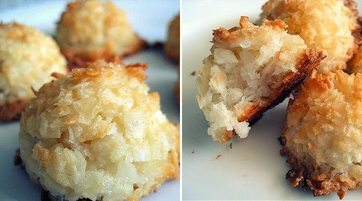 Low Carb Rezept für leckere Low-Carb Kokosmakronen. Wenig Kohlenhydrate und einfach zum Nachkochen. Super für Diät/zum Abnehmen.