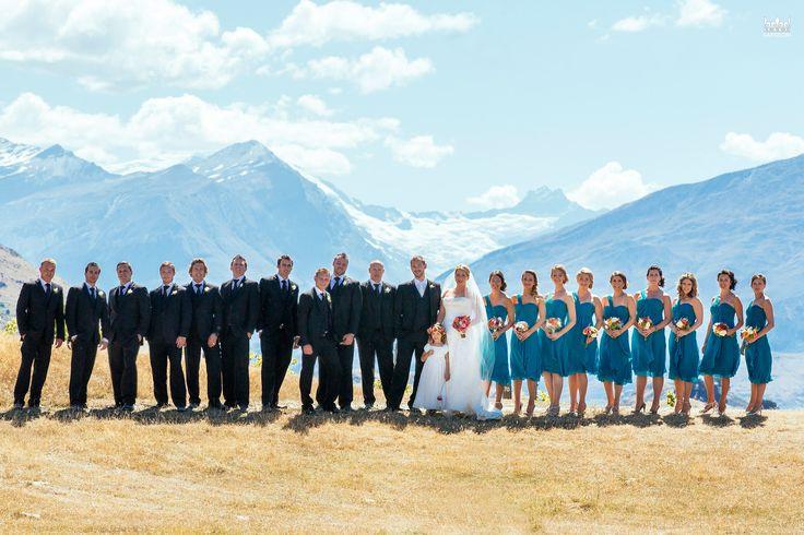 Large Bridal Parties – Rippon Vineyard