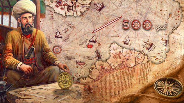 Denizci ve kartoğrafı Piri Reis'in 1513'te çizdiği Afrika, Amerika ve Güney Kutbu'nu gösteren harita, ortaya çıkarıldığı 1929 yılında ortalığı karıştırdı. Çünkü Güney Kutbu'nun keşfi, haritanın çizilmesinden çok sonra, yani 1818'de gerçekleşmişti.