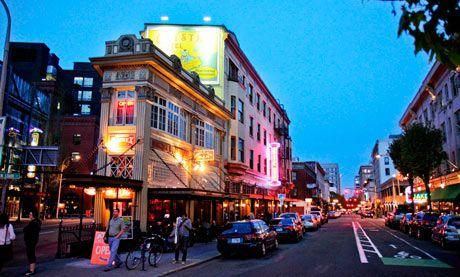Portland Hostels, including rock n roll hotel and bike-friendly hostel