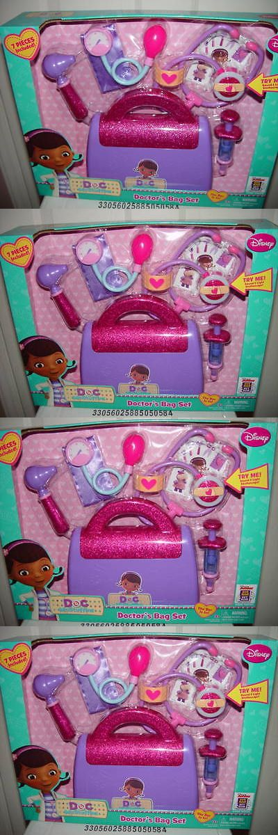 Doctor Nurse Kits 158741: Disney Doc Mcstuffins Doctor S Bag New In Box 7 Pieces -> BUY IT NOW ONLY: $45 on eBay!