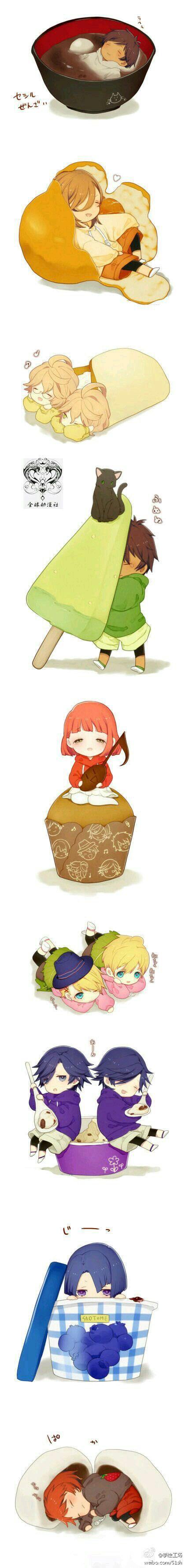 Mejores 445 imágenes de chibi en Pinterest | Arte de anime, Chibi ...