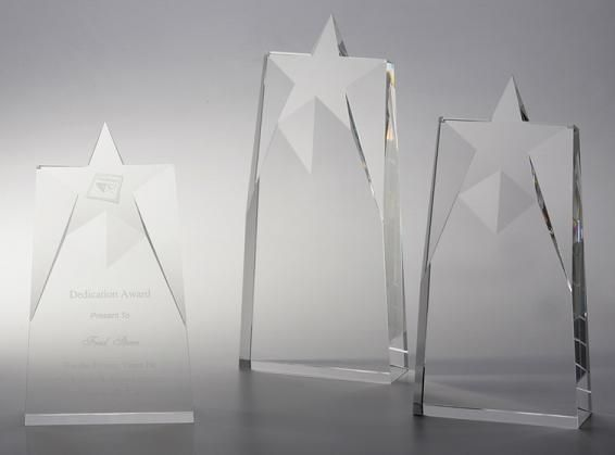 The finale star award.. 3 sizes..