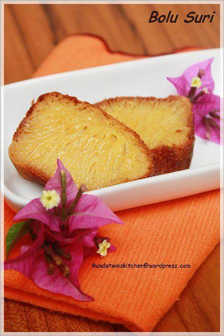 suri cake; kue suri palembang