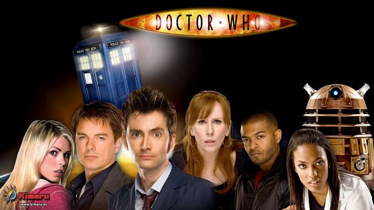 Decimo Doctor Who y Compañeros de Viaje