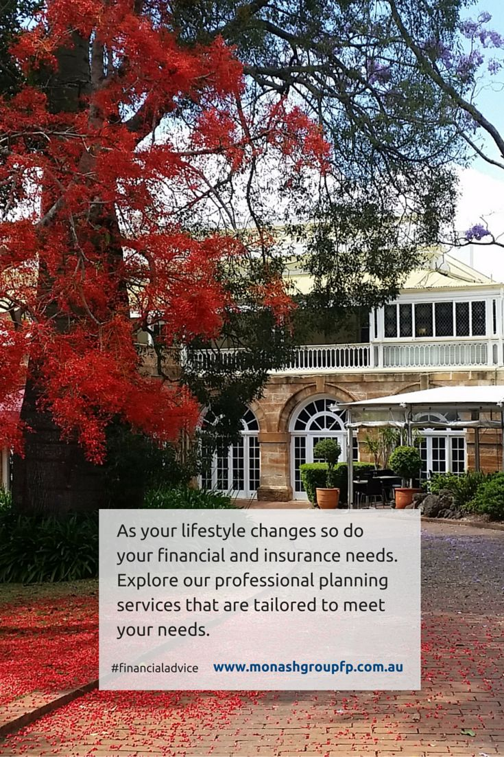 As your lifestyle changes so do your financial and insurance needs. Explore our professional planning services that are tailored to meet your needs. #financialadvice #Toowoomba #lifeinsurance #health #protection