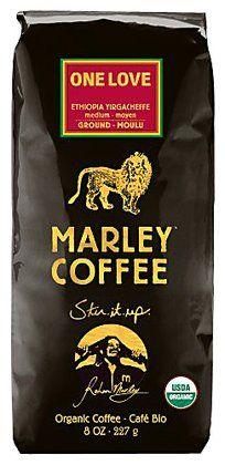 Love this coffee! One Love = So good. Marley Coffee Organic Ground Coffee, #Ethiopia