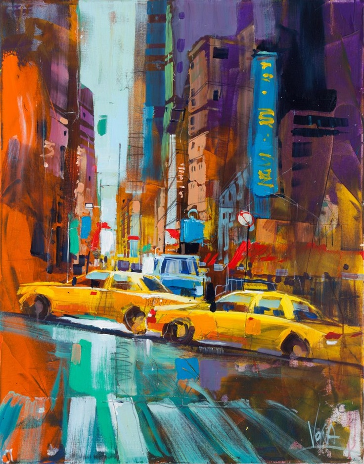 Voka taxis yellow