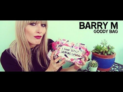 Barry M GOODY BAG | MICHELA ismyname ❤️
