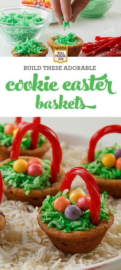 What do you get when you combine cookies, frosting, candy and your imagination? A perfect-for-Easter dessert kids will love. Get the easy (and we mean easy) directions from Nestle Toll House.