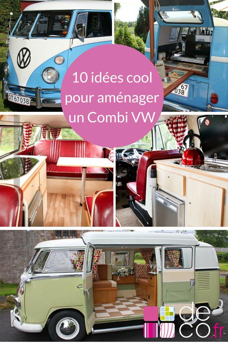 Découvrez 10 façons originales d'aménager un Combi Volkswagen !