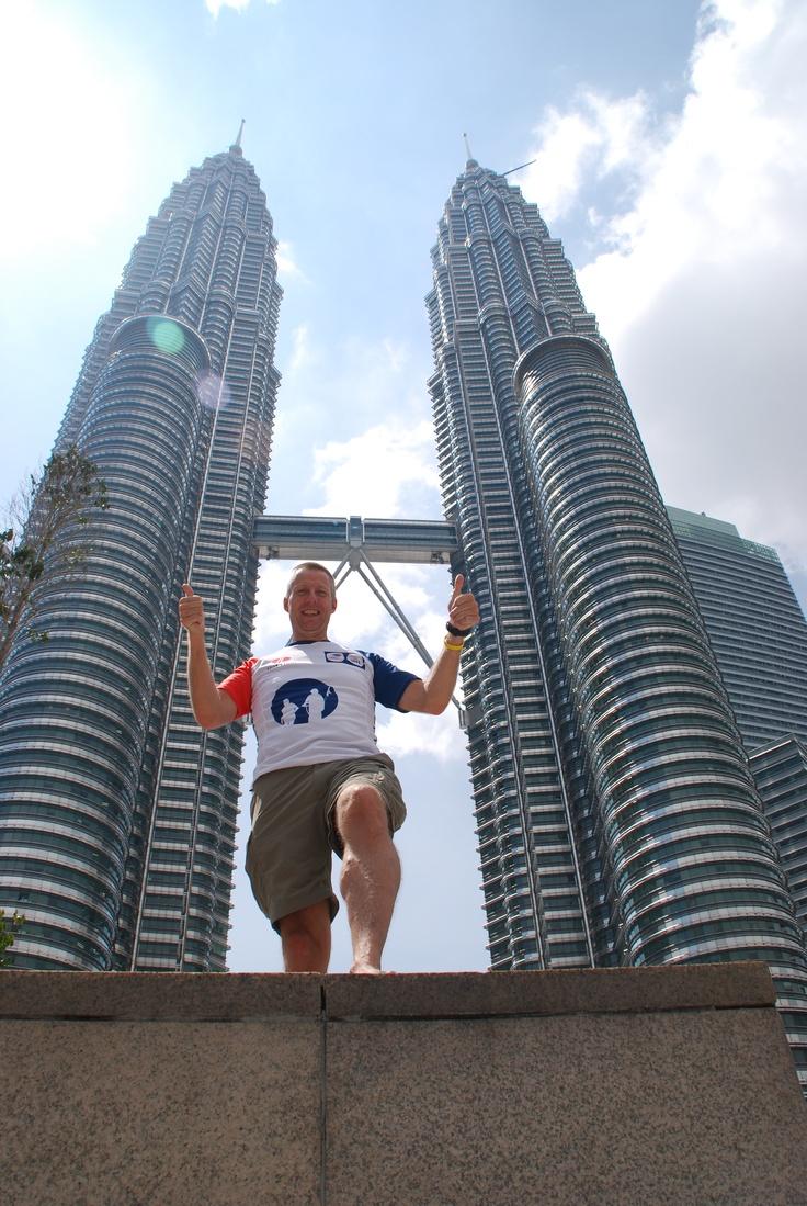 Jean-Jacques van Giels uit team 148 in Maleisie