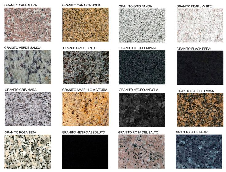 m s de 1000 ideas sobre colores de granito en pinterest On gama de colores de granito