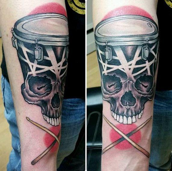 Pin By Roxy Arana On Tattoos Dad In 2020 Arm Tattoo Small Arm Tattoos Drum Tattoo