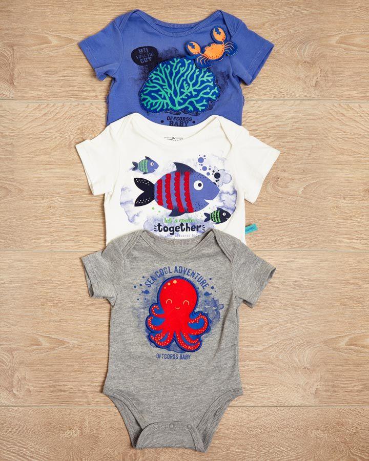 #ABCEarlyLearning Estimula a tu bebé con tu body favorito! Tocar, jugar y descubrir... Fashion kids >> http://www.offcorss.com/newborn