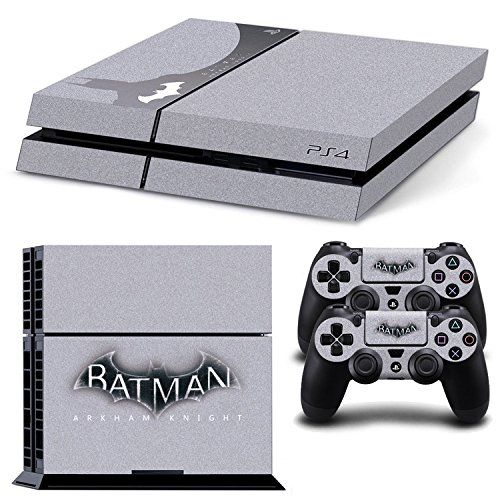 GOOOD Batman Arkham Knight Limited Edition Skin Decal for Plartation 4 console & PS4 Wireless Controller Skins Stickers - Steel Grey GOOOD http://www.amazon.com/dp/B016IO8XBY/ref=cm_sw_r_pi_dp_hu1rwb0E55WCY
