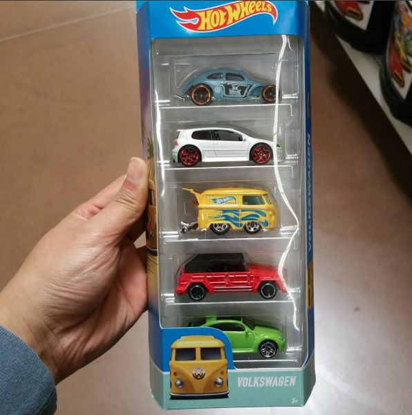 2016 Hot Wheels Volkswagen 5 Pack