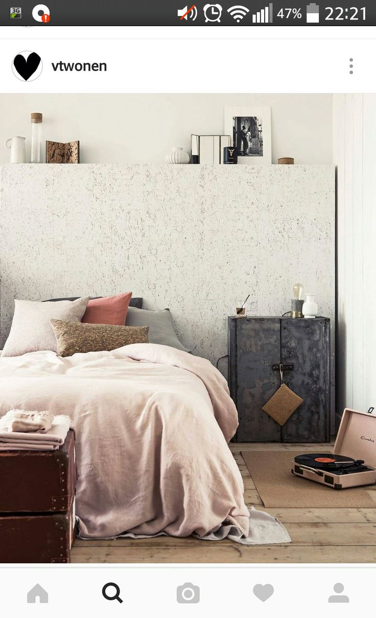 25 beste idee n over muur achter bed op pinterest kast for Bed in muur