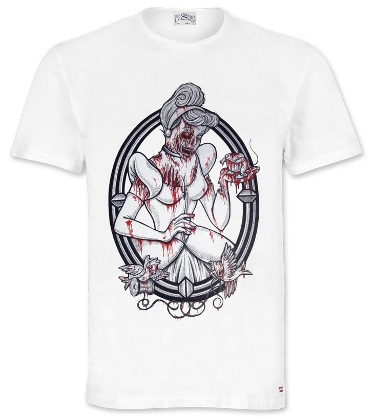 Zombie Princess T-Shirt http://www.excelcy.com/2013/02/zombie-princess-t-shirt.html