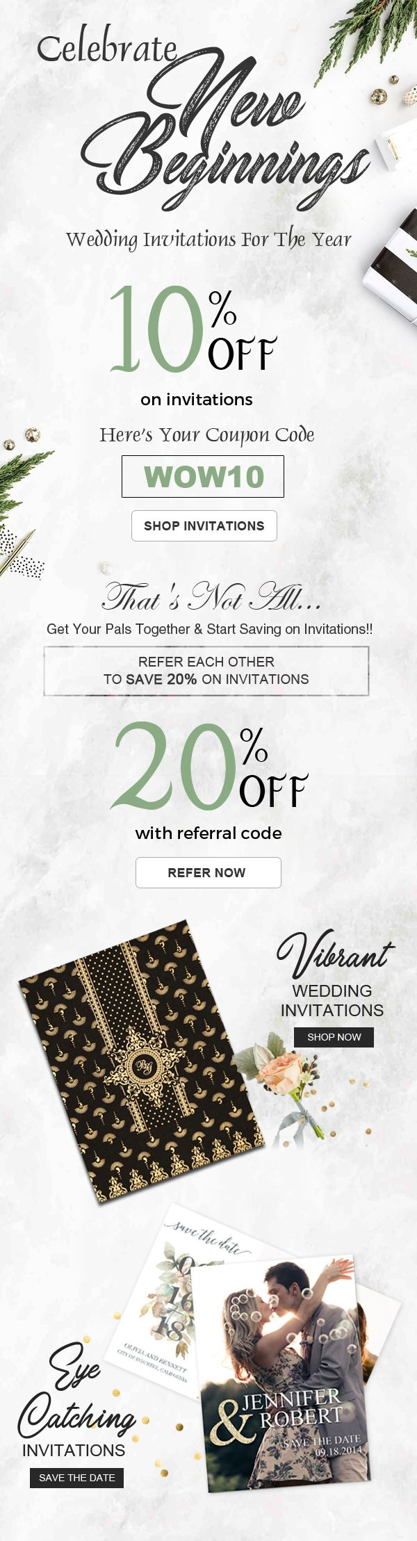 The 41 best wedding sale and offers wedding invitations offers get up to 20 off on wedding invitations from 123weddingcards weddingideas invitation fandeluxe Image collections
