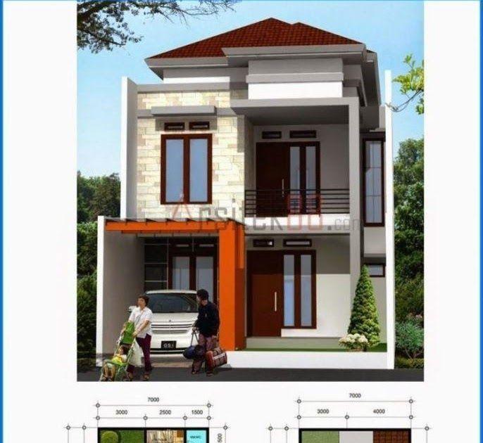 Desain Rumah Minimalis 2 Lantai Lahan Sempit Cek Bahan Bangunan