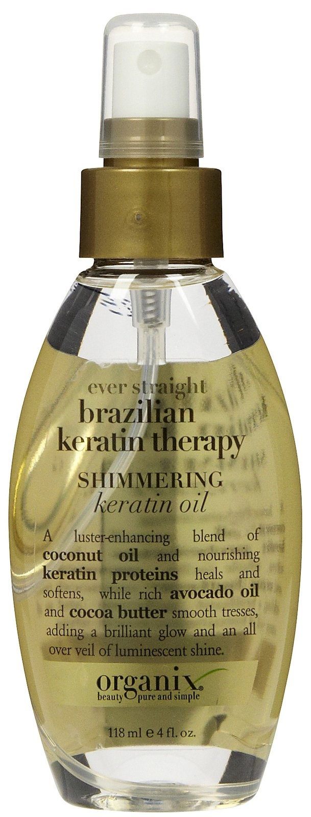 Organix Brazilian Keratin Therapy Ever Straight Shimmering Keratin Oil